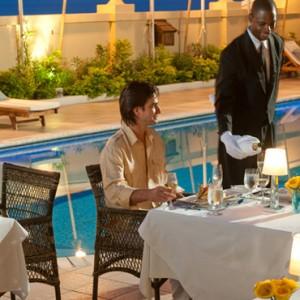 Bay Window - Sandals Inn montego Bay - Luxury Caribbean Honeymoons