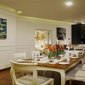 Centara Ceysands Resorts & Spa - Sri Lanka Honeymoon packages - Royal suite dining