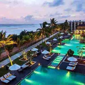 Centara Ceysands Resorts & Spa - Sri Lanka Honeymoon packages - aerial view night