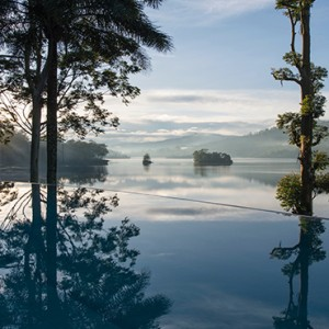 Ceylon Tea Trails - Sri Lanka Honeymoon Packages - Pool and lake