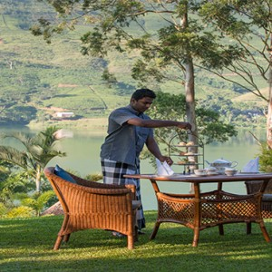 Ceylon Tea Trails - Sri Lanka Honeymoon Packages - afternoon tea