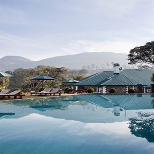 Ceylon Tea Trails - Sri Lanka Honeymoon Packages - bungalow pool