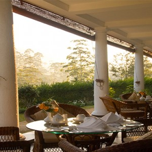 Ceylon Tea Trails - Sri Lanka Honeymoon Packages - dining