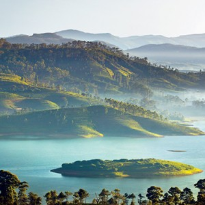 Ceylon Tea Trails - Sri Lanka Honeymoon Packages - lake and mountains