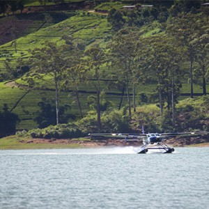 Ceylon Tea Trails - Sri Lanka Honeymoon Packages - seaplane landing