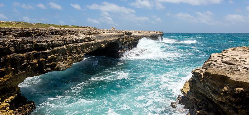 Devils bridge - reasons to go antigua - luxury antigua honeymoons