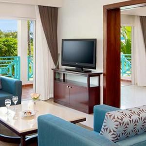 Dreams La Romana Resort & Spa - Dominican Republic luxury Honeymoon packages - Preferred Club Honeymoon Suite Garden View