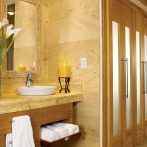 Dreams La Romana Resort & Spa - Dominican Republic luxury Honeymoon packages - Preferred Club Master Suite bathroom