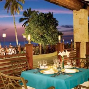 Dreams La Romana Resort & Spa - Dominican Republic luxury Honeymoon packages - Seaside grill