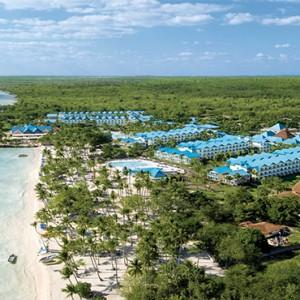 Dreams La Romana Resort & Spa - Dominican Republic luxury Honeymoon packages - aerial view