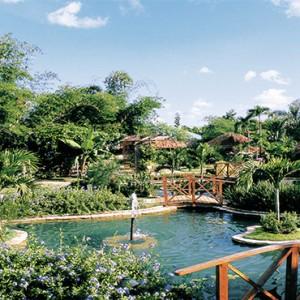 Dreams La Romana Resort & Spa - Dominican Republic luxury Honeymoon packages - pond