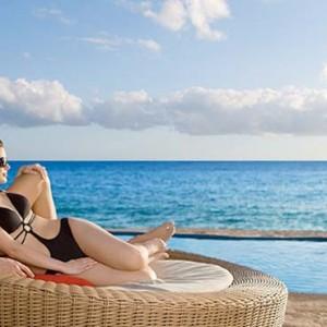 Dreams La Romana Resort & Spa - Dominican Republic luxury Honeymoon packages - sun lounge