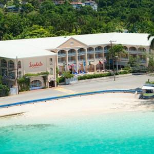 Exterior - Sandals Inn montego Bay - Luxury Caribbean Honeymoons