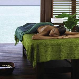 Four Seasons Resort Maldives at Kuda Huraa - Maldives Honeymoon Packages - Island spa pavillion