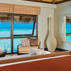 Four Seasons Resort Maldives at Kuda Huraa - Maldives Honeymoon Packages - Sunrise water bungalow