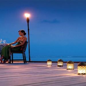 Four Seasons Resort Maldives at Kuda Huraa - Maldives Honeymoon Packages - dinner under the stars