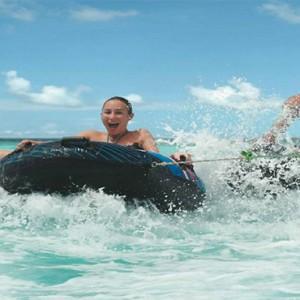 Four Seasons Resort Maldives at Kuda Huraa - Maldives Honeymoon Packages - fun tubes