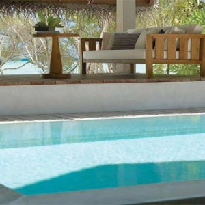 Four Seasons Resorts at Landaa Giraavaru - Maldives Luxury Honeymoon Packages - Beach Bungalow with Pool pool