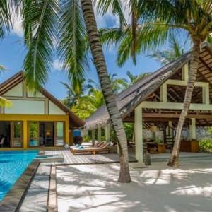 Four Seasons Resorts at Landaa Giraavaru - Maldives Luxury Honeymoon Packages - Beach Villa with Pool