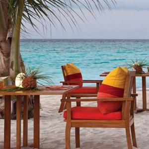 Four Seasons Resorts at Landaa Giraavaru - Maldives Luxury Honeymoon Packages - Fuego grill