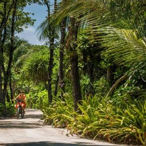 Four Seasons Resorts at Landaa Giraavaru - Maldives Luxury Honeymoon Packages - bike rental
