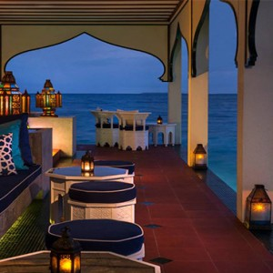 Four Seasons Resorts at Landaa Giraavaru - Maldives Luxury Honeymoon Packages - shisha bar