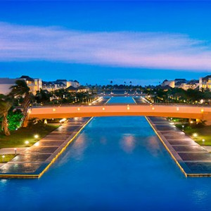 Hard Rock Hotel & Casino Punta Cana - Dominican republic luxury honeymoon packages - Punta canta at dusk