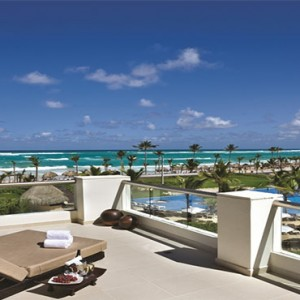 Hard Rock Hotel & Casino Punta Cana - Dominican republic luxury honeymoon packages - balcony view