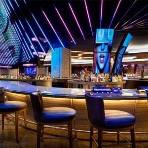 Hard Rock Hotel & Casino Punta Cana - Dominican republic luxury honeymoon packages - casino centre bar