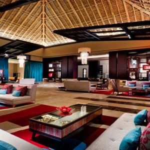 Hard Rock Hotel & Casino Punta Cana - Dominican republic luxury honeymoon packages - hotel lobby