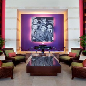 Hard Rock Hotel & Casino Punta Cana - Dominican republic luxury honeymoon packages - lobby