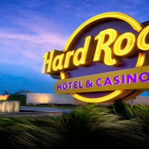 Hard Rock Hotel & Casino Punta Cana - Dominican republic luxury honeymoon packages - sinage