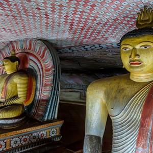 Heritance Kandalama - Sri Lanka Honeymoon Packages - Dambulla cave temple