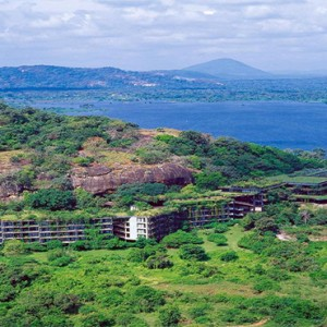 Heritance Kandalama - Sri Lanka Honeymoon Packages - aerial view of exterior
