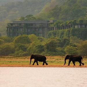 Heritance Kandalama - Sri Lanka Honeymoon Packages - lake safari