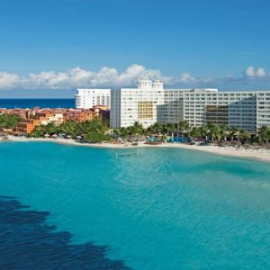 Mexico Honeymoon Packages Dreams Sands Cancun Resort And Spa Aerial View Of Resort1