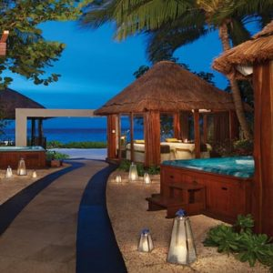 Mexico Honeymoon Packages Dreams Sands Cancun Resort And Spa Spa Cabins