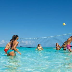 Mexico Honeymoon Packages Dreams Sands Cancun Resort And Spa Water Volleyball
