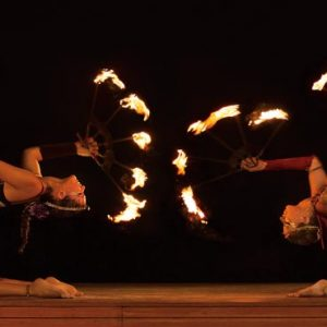 Mexico Honeymoon Packages Dreams Sands Cancun Resort And Spa Fire Show