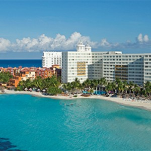 aerial view - Dreams Sands Cancun Resort & Spa - Mexico Luxury honeymoon packages