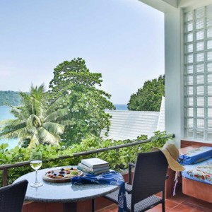 balcony views - mom tris villa roayle phuket - luxury phuket honeymoons