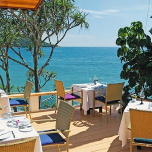 dining 2 - mom tris villa roayle phuket - luxury phuket honeymoons