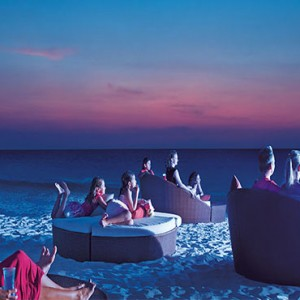 movie night - Dreams Sands Cancun Resort & Spa - Mexico Luxury honeymoon packages