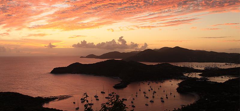 sunsets - reasons to go antigua - luxury antigua honeymoons