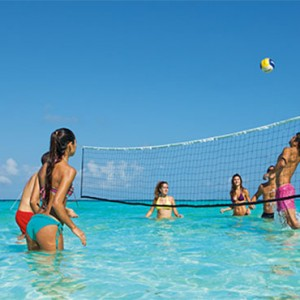 volleyball - Dreams Sands Cancun Resort & Spa - Mexico Luxury honeymoon packages