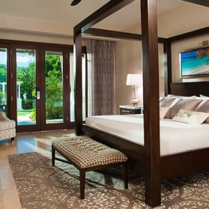 2 Romeo & Juliet Walkout Butler Suite with Patio Tranquility Soaking Tub - Sandals Royal Caribbean - Luxury Jamaica Honeymoons