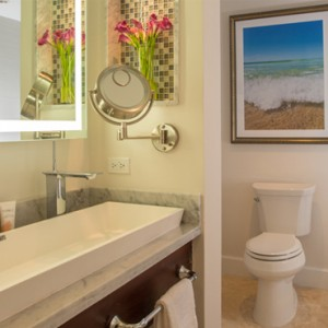 3 Windsor Beachfront Walkout Club Level Room with Patio Tranquility Soaking Tub - Sandals Royal Caribbean - Luxury Jamaica Honeymoons