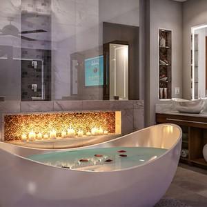 4 Honeymoon Grand Luxury Walkout Butler Suite with Patio Tranquility Soaking Tub - Luxury Jamaica Honeymoons