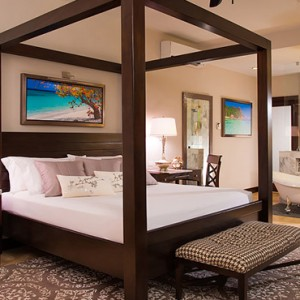 4 Romeo & Juliet Walkout Butler Suite with Patio Tranquility Soaking Tub - Sandals Royal Caribbean - Luxury Jamaica Honeymoons