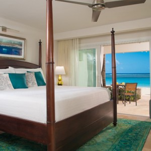 4 Windsor Beachfront Walkout Club Level Room with Patio Tranquility Soaking Tub - Sandals Royal Caribbean - Luxury Jamaica Honeymoons